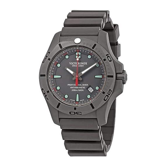 Victorinox I.N.O.X. Professional Diver Titanium Cuarzo - Reloj (Reloj de pulsera, Masculino, Titanio