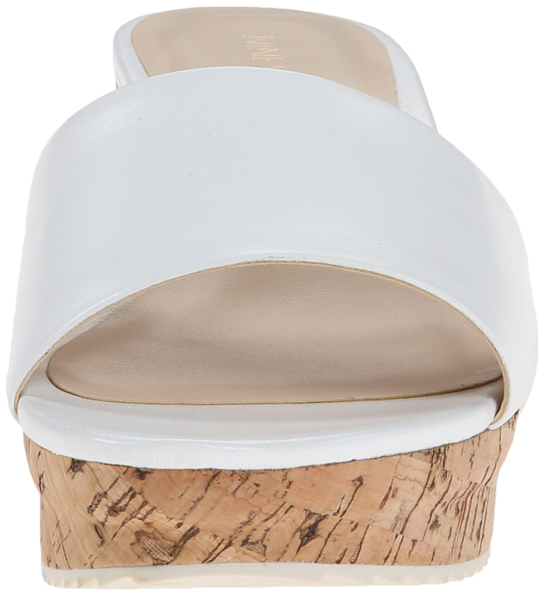 Nine West Women's Confetty Leather Platform US|Ivory Sandal B00QYZYE52 8 B(M) US|Ivory Platform 297306