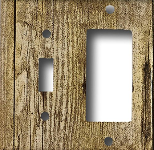 ht Switch GFI Rocker Wall Plate Combo ()