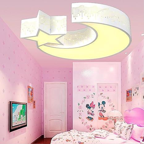 LED Lámpara de techo acrílico moderno diseño de luna ...