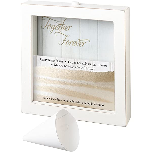"""Picture Frame Wedding Gift /""""Together Forever/"""" Photo NEW Unity Sand Frame"""