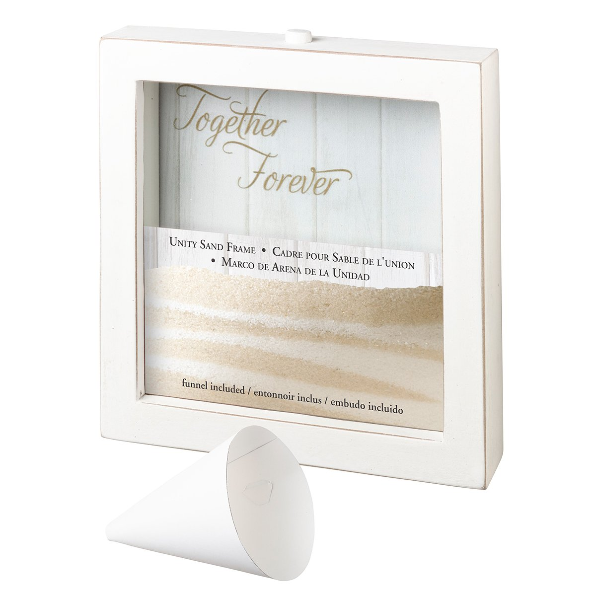 Amazoncom Lillian Rose Us106 Small Unity Sand Ceremony Frame 75