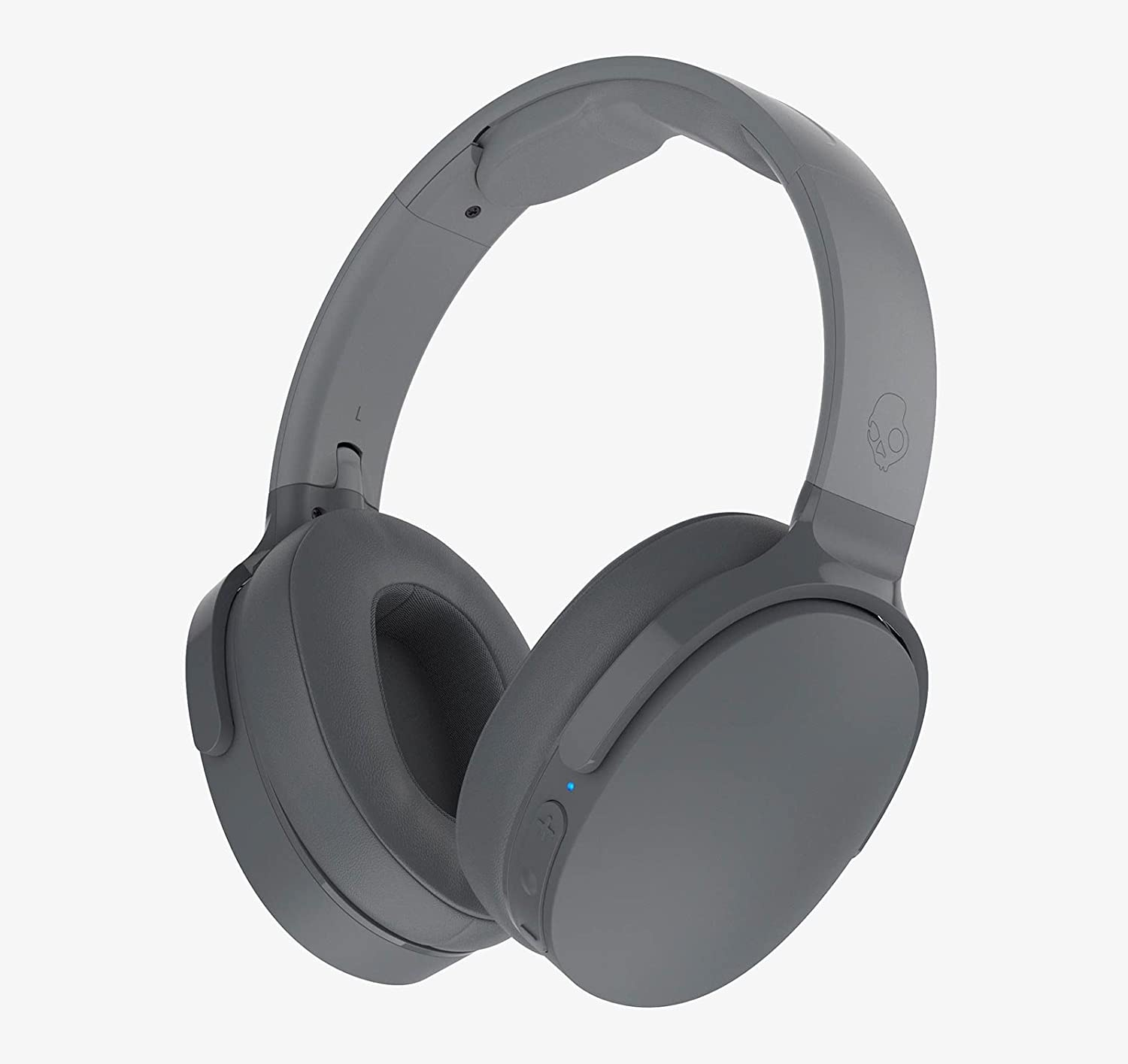 Skullcandy S6HTW-K033 Hesh 3 Bluetooth Wireless Over-Ear Headphones with Microphone, Rapid Charge 22-Hour Battery, Foldable, Memory Foam Ear Cushions for Comfortable All-Day Fit