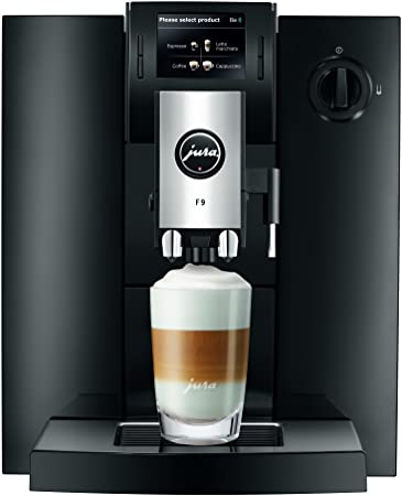 Jura IMPRESSA F9 Independiente Totalmente automática Máquina espresso 1.9L Negro - Cafetera (Independiente, Máquina espresso, Negro, Botones, Giratorio, TFT, 1,9 L): Amazon.es: Hogar