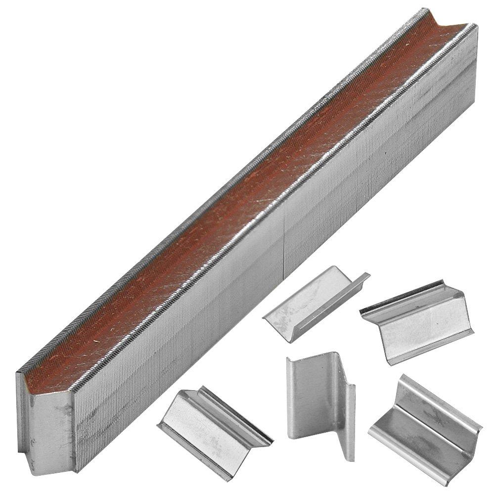 Woodtek 149150, Air Tool Accessories, Fasteners, 7mm (1/4'') V Corner Fasteners, 8000-pack