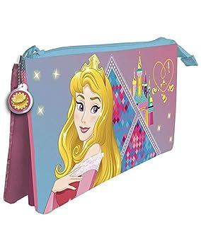 Amazon.com: AstroFlight Disney Princess Pencil Case with 3 ...