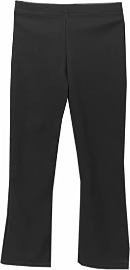 New Only Uniform Girls School Pull Up Trousers Elasticated Waist Pull On Trouser