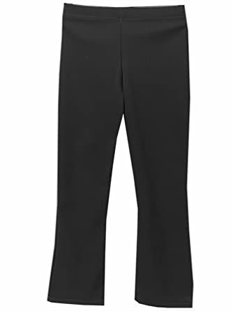dece2eb10fc Junction 10 Girls Elasticated Waist Pull Up School Trousers, Pull On  Stretch Rib Trousers: Amazon.co.uk: Clothing
