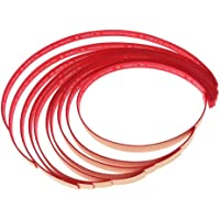 SGerste 10 Pcs Table Tennis Racket Edge Tape/Racquet/Bat Side Tapes - Red