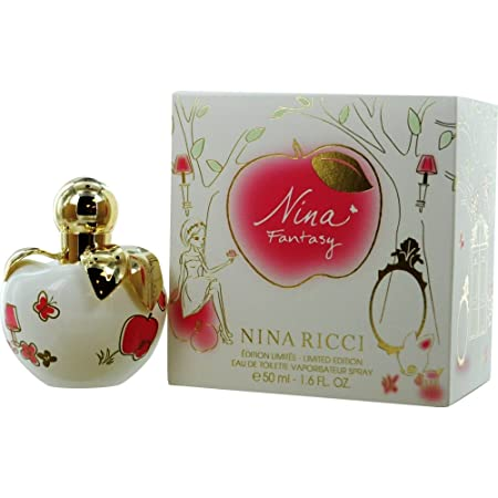 Nina Ricci Fantasy Eau De Toilette Spray Limited Edition for Women, 1.7 Ounce