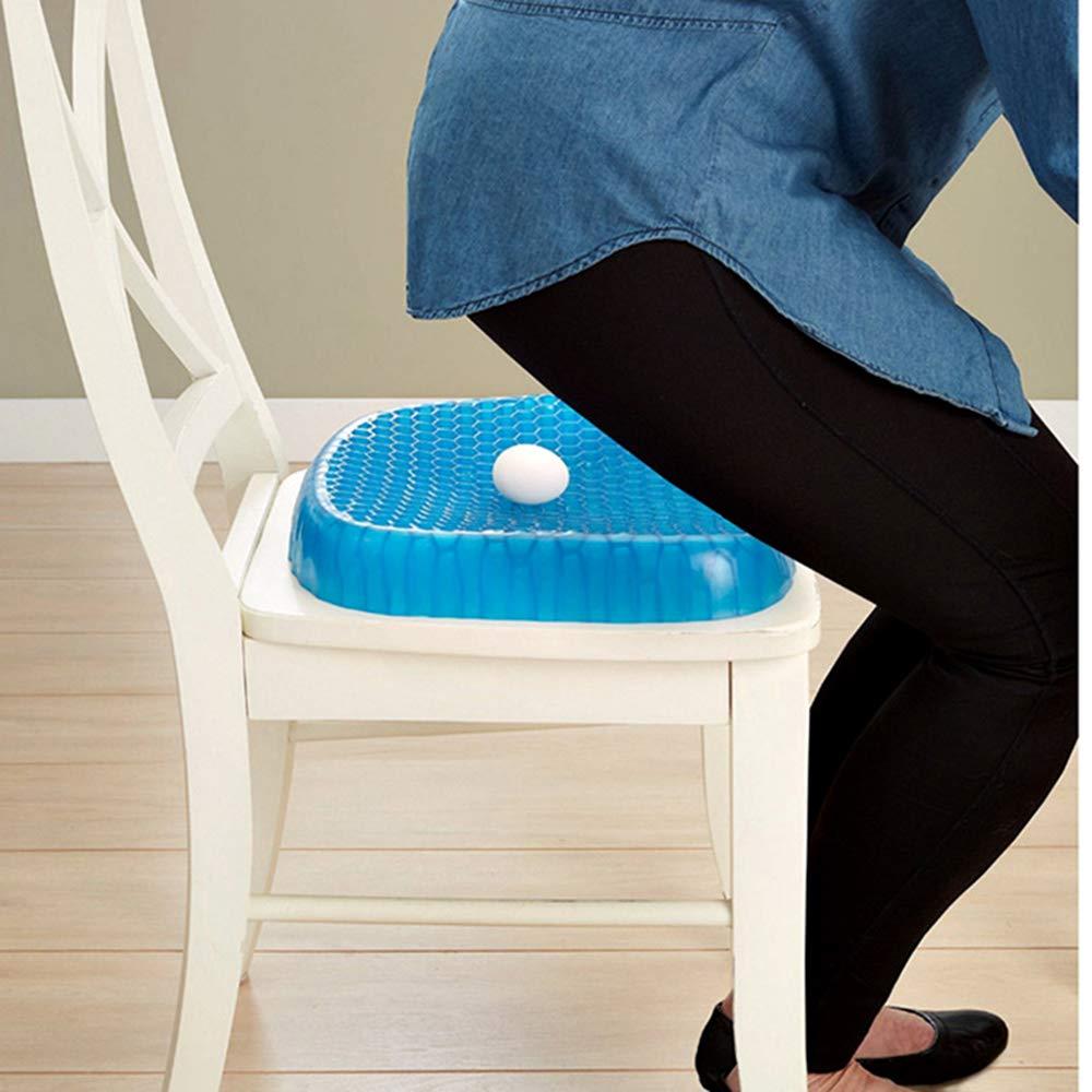 Alleviare Il Dolore,per Auto uffici e sedie a rotelle DMGF Breathable Gel Cushion