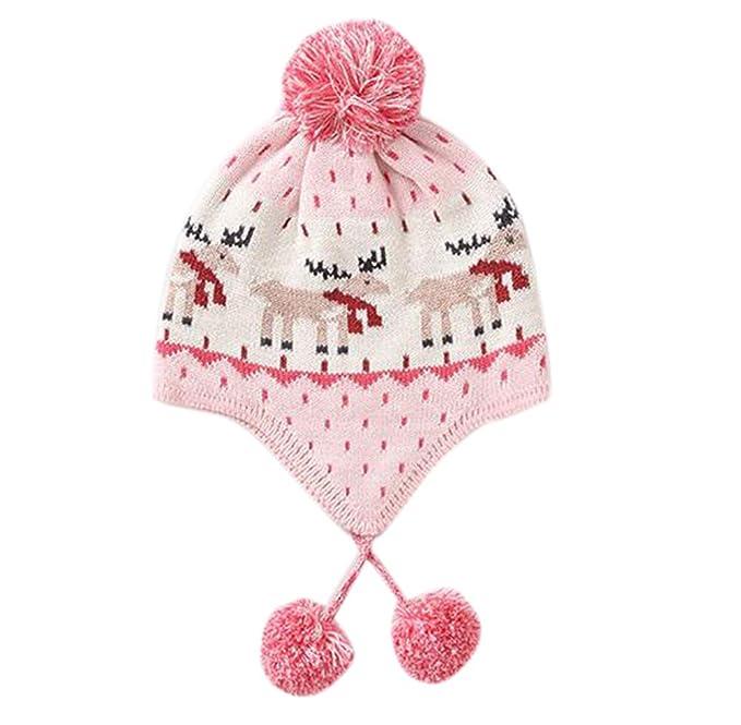 Huateng Sombrero De Bebé De Punto Sombrero De Otoño De Invierno ...