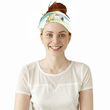 Headbands Color Headwear Bandana Sweatband Gaiter Head Wrap Mask Neck Outdoor Scarf