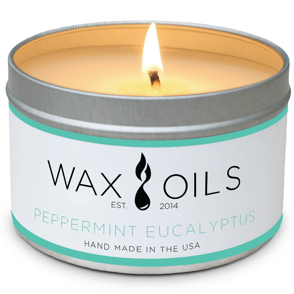 Peppermint Eucalyptus Candles