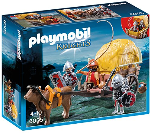 PLAYMOBIL® Hawk Knights with Camouflage Wagon Set