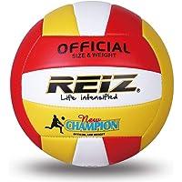 Mandalaa Reiz Soft PU Voleibol Tamaño Oficial 5# Voleibol Pelota de Entrenamiento Profesional para Interiores y Exteriores con Regalo Gratis Voleibol de Aguja Neta
