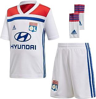 adidas 2018-2019 Olympique Lyon Home Little Boys Mini Kit