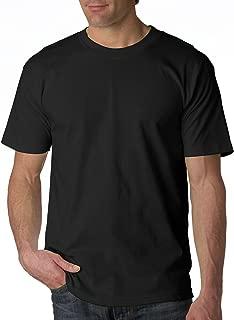product image for Bayside Apparel 6.1 oz. Basic T-Shirt (BA5100) Black, L