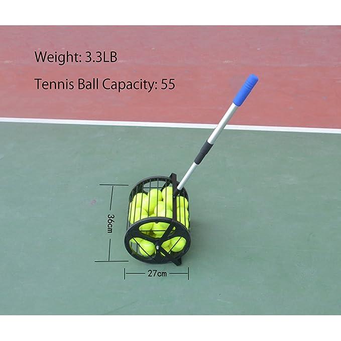 Amazon.com: HnjPama 2 en 1 pelota de tenis de béisbol ...
