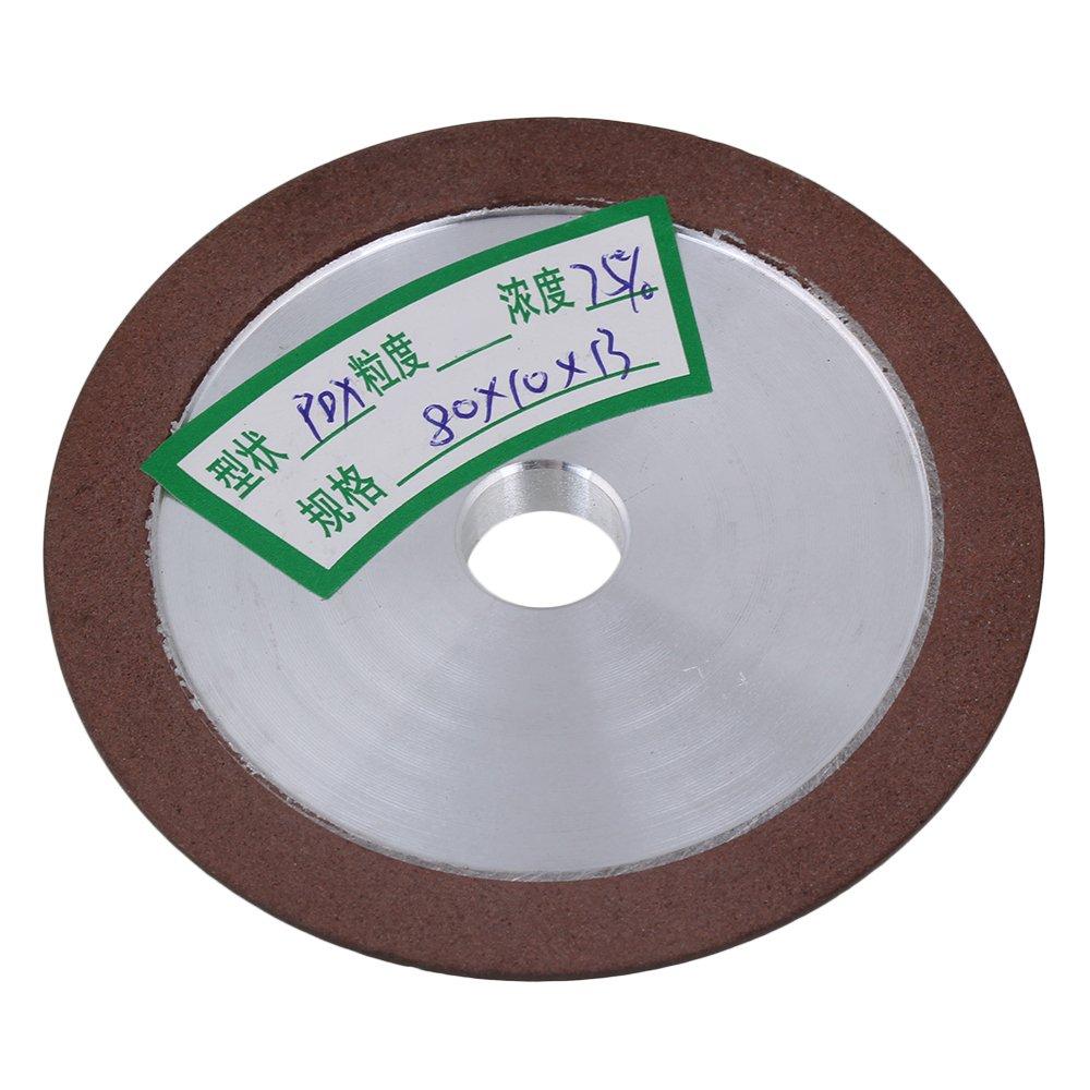 150/×10/×32mm PDX Degree Diamond Wheel Grinding Disc Grain Rotary Abrasive Tool Grinding Disc Wheels Silver 180#