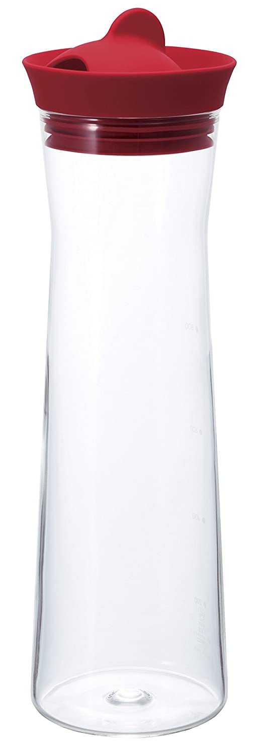 HARIO Ice Water Pitcher, 1000ml, Pink WJ-10-R