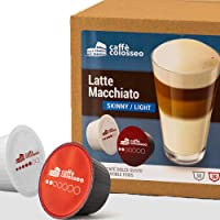 Caffè Colosseo - Magere Latte Macchiato - 60 Dolce Gusto Compatibel Koffie Cups (60 Cups, 30 Porties)