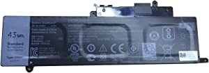 Dentsing 11.1V 43Wh/3800mAh GK5KY Laptop Battery Compatible with Dell Inspiron 11 3147 3148 3152 3153 3157 13 7000 7347 7348 7352 7353 7359 P57G 15 7000 75587568 Series Laptop 4K8YH 0WF28 P20T 092NCT