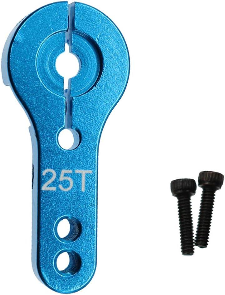 Blau SDENSHI 1 St/ücke 25 T Servoh/örner M3 RC Metall Lenkarm F/ür Power F/ür Servos
