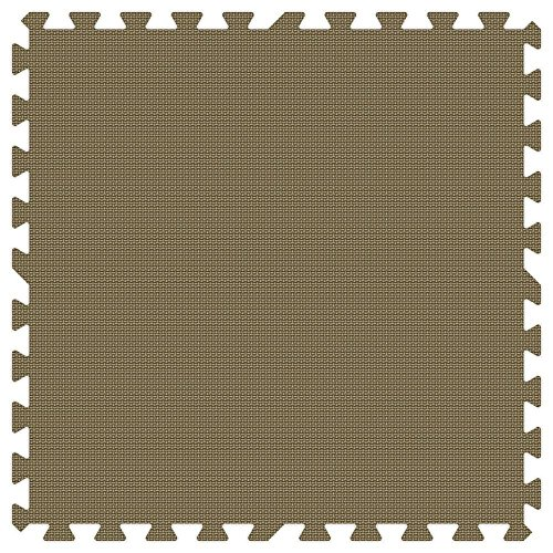 BROWN 24 in. x 24 in. Comfortable Mat (100 sq.ft. / Case) by Groovy Mats