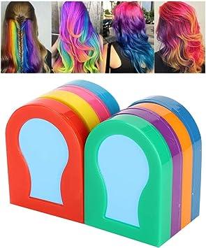 Color de cabello temporal en polvo 8 colores de tinte de ...