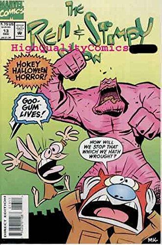 REN STIMPY SHOW #13, NM, TV Cartoon, Halloween, monster, more in -