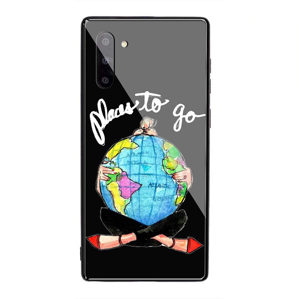 YINZONGSTORE Samsung Galaxy A10 Funda, Cubierta Trasera de ...