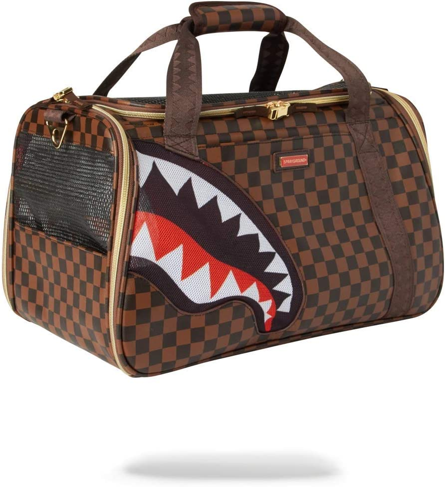 SPRAYGROUND BACKPACK PET CARRIER: SHARKS IN PARIS