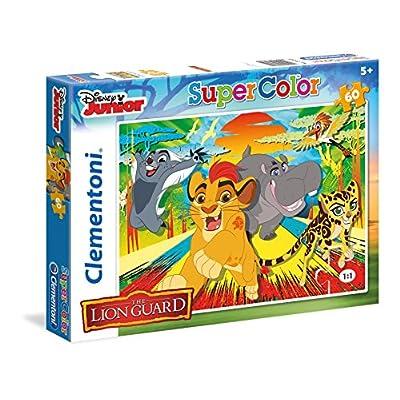 Clementoni Lion Guard Supercolor Puzzle Multicolore 60 Pezzi 26960