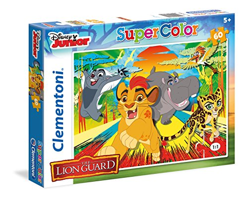Clementoni Lion Guard Supercolor Puzzle Multicolore 60 Pezzi 26960