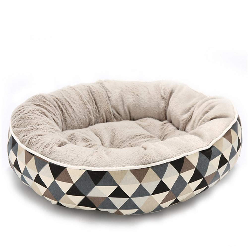 L Wuwenw Washable Dog Beds For Small Large Dogs Pet Kennels Beds Cat House Sofa Cats Mat Plaid Pets Puppy Bed House Dog,L