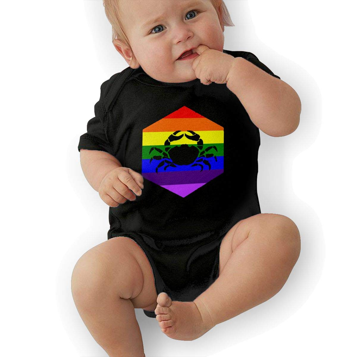 Suit 6-24 Months TAOHJS97 Baby Boys Cancer LGBT Short Sleeve Climbing Clothes Bodysuits