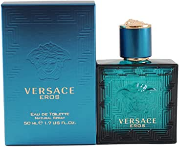 Versace Eros Eau de Toilette for Men, 50ml