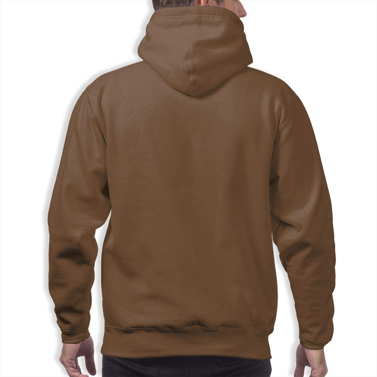 Brown Full-Length Sweater Mens Hoodie Sweater