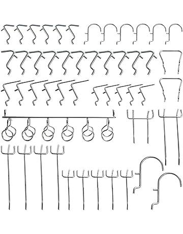 Crochets Pour Panneaux Perforés Bricolage Amazonfr