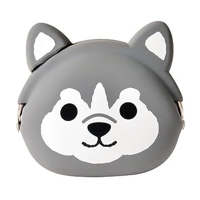 MIMI POCHI FRIENDS - Silicon Coin Purse (Husky)