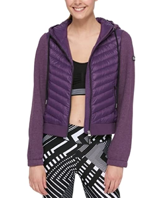 marketable special selection of latest releases Tommy Hilfiger Sport Quilted Jacket (BlackBerry, S): Amazon ...