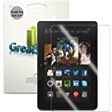 "GreatShield MERE Mark II Ultra Clear HD Screen Protector Shield for Kindle Fire HDX 8.9"" - 3 pack - Lifetime Warranty Replacement"