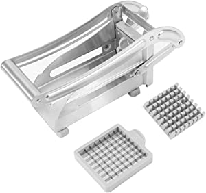 Foodservice 42306 Commercial Grade French Fry Cutter with Suction Feet, 3/8-Inch
