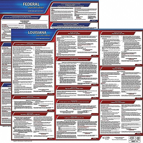 Labor Law Poster Kit, LA Federal and State Labor Law, Spanish ()
