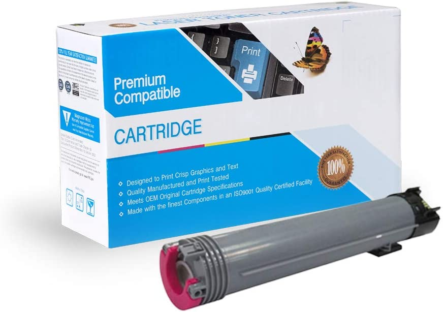 On-Site Laser Compatible Toner Replacement for Xerox 106R01508 Works with: Phaser 6700 106R01504 Magenta