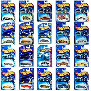 Hot Wheels Die-Cast Vehicle Bundle of 4 (Styles May Vary)