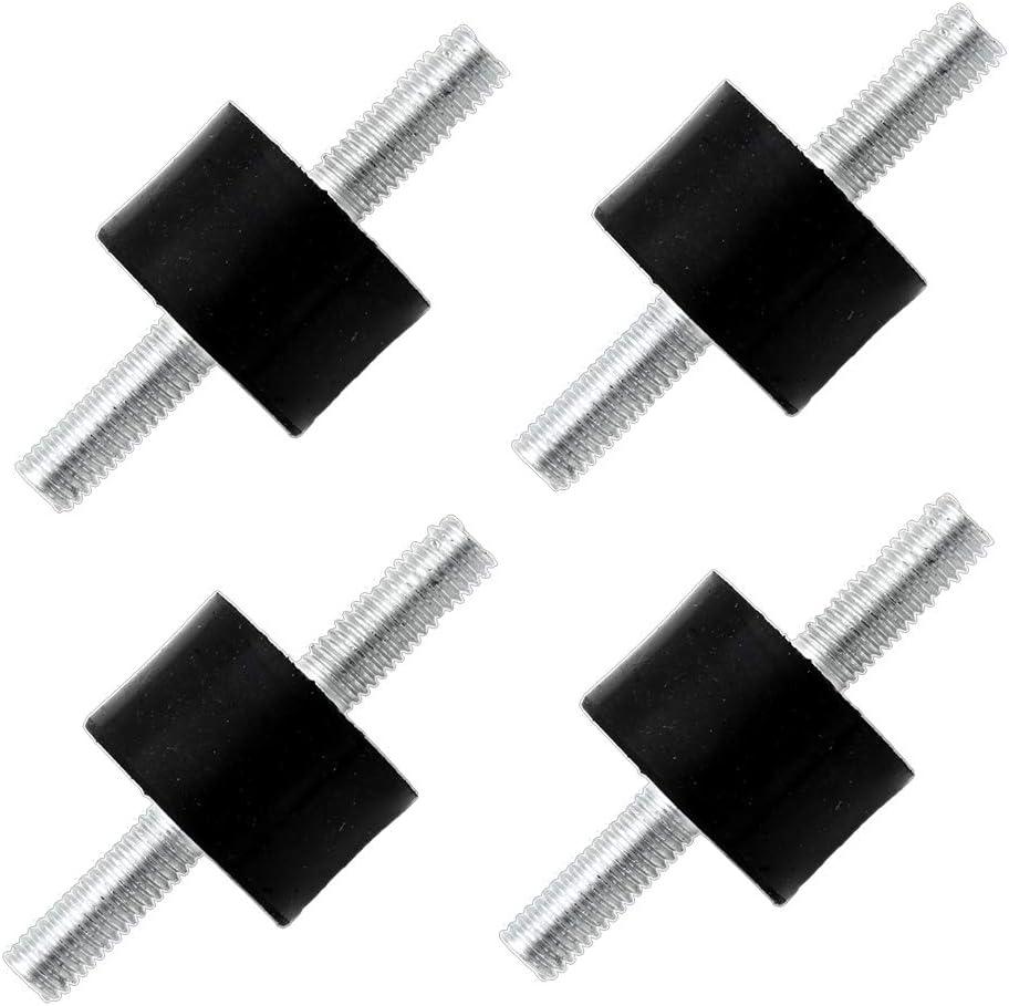 4 Stück M8 Schwingungsdämpfer Silentblock Gummipuffer 30x20mm Baumarkt