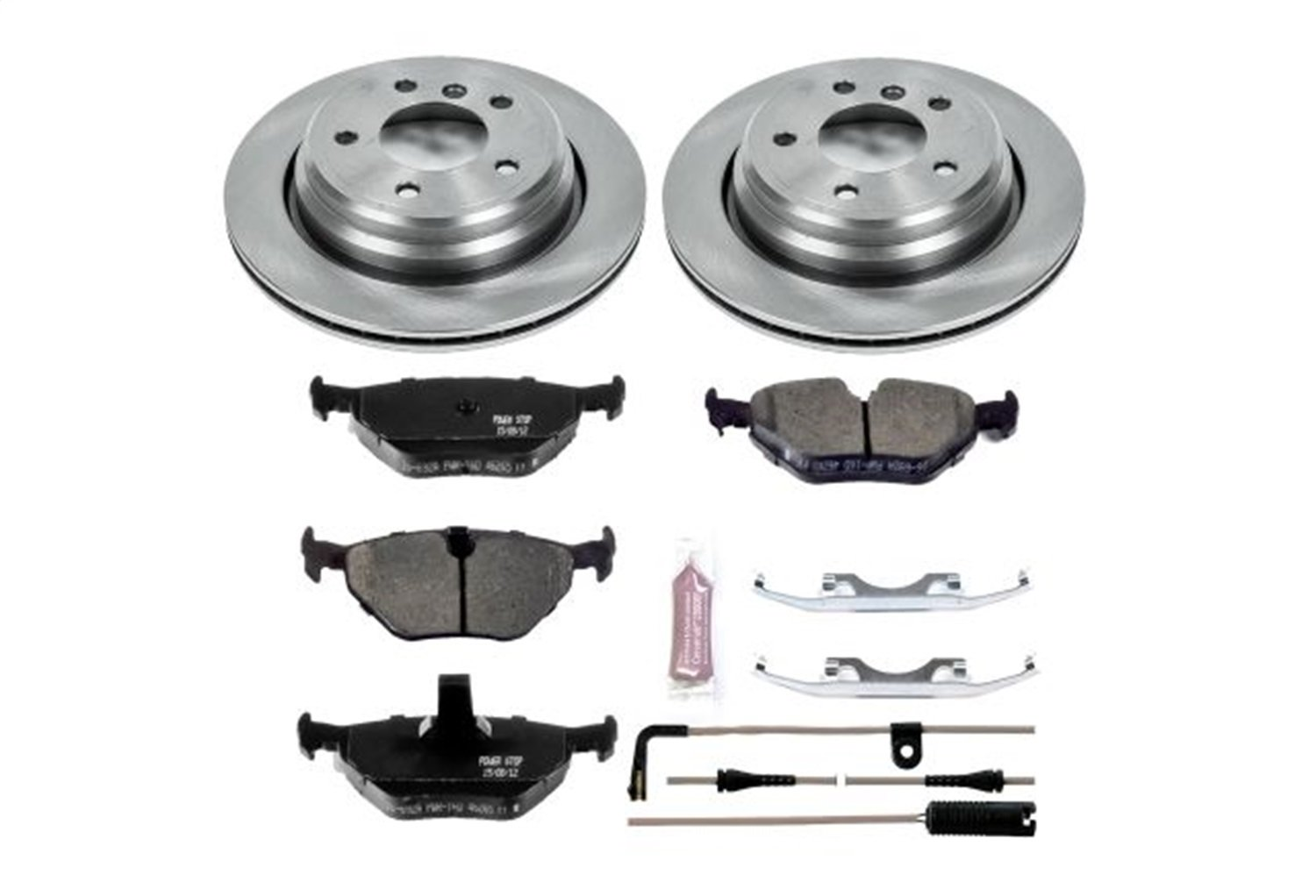 Autospecialty KOE3033 1-Click OE Replacement Brake Kit