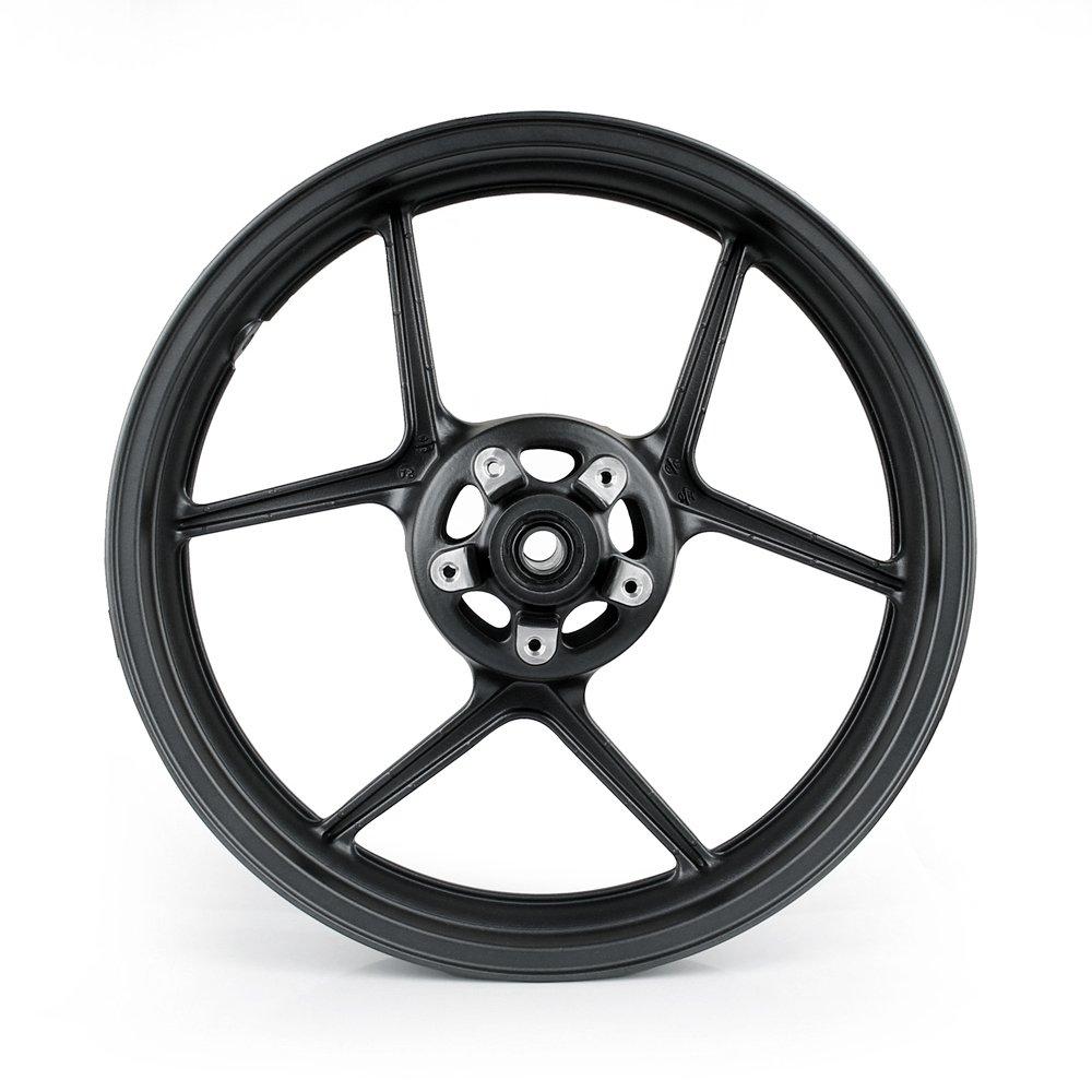 Artudatech Front Wheel Rim For Kawasaki ER6N 2006-2012 ZX10R 2004-2005 Black